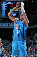 Asefa Estudiantes' Kyle Kuric during Liga Endesa ACB match.January 6,2012. (ALTERPHOTOS/Acero) /NortePhoto