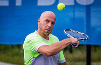 Amstelveen, Netherlands, 19 Augustus, 2020, National Tennis Center, NTC, NKR, National  Wheelchair Tennis Championships, Men's single: Berry Korst (NED)<br /> Photo: Henk Koster/tennisimages.com