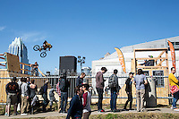 Professional BMX riders take to the air as SXSW offers some of the world's best BMX extreme action sports, music and more.