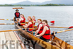 The Fossa crew on the lake at the Killarney Regatta in Killarney Golf and Fishing club on Monday