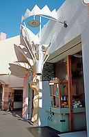 Jon Jerde: Horton Plaza Pastry Shop--designed by Tom Grondona. (Photo '85)