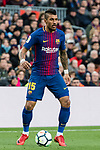 Jose Paulo Bezerra Maciel Junior, Paulinho, of FC Barcelona in action during the La Liga 2017-18 match between FC Barcelona and Getafe FC at Camp Nou on 11 February 2018 in Barcelona, Spain. Photo by Vicens Gimenez / Power Sport Images