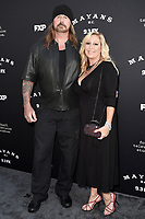 """LOS ANGELES - AUGUST 27: Rusty Coones and Katherine Coones attend the season two red carpet premiere of FX's """"Mayans M.C"""" at the ArcLight Dome on August 27, 2019 in Los Angeles, California. (Photo by Scott Kirkland/FX/PictureGroup)"""