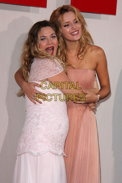 HOLLYWOOD, CA - May 21: Drew Barrymore, Bella Thorne at the &quot;Blended&quot; Premiere, Chinese Theater, Hollywood,  May 21, 2014.  <br /> CAP/MPI/JO<br /> &copy;Janice Ogata/MediaPunch/Capital Pictures