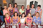 Members of Glenderry National School Parents Association enjoying a night out at Cassidys on Friday Pictured front l-r  Eileen Stack, Mary Higgins, Noreen O'Halloran, Niamh O'Connor, Susan Lacy, back l-r Teresa Christie, Geraldine Harty, Hannah Quirke, Eilish Woods, Karen O'Sullivan, Lisa McCarthy, Bridie Kenny