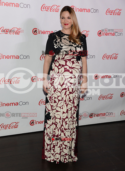 LAS VEGAS, NV - March 27: Female Star of the Year Award winner Drew Barrymore at the CinemaCon Big Screen Achievement Awards on March 27, 2014 in Las Vegas, Nevada. © RD/ Kabik/ Retna Digital