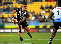New Zealand's Danny Levi in action during the 2017 Rugby League World Cup quarterfinal match between New Zealand Kiwis and Fiji at Wellington Regional Stadium in Wellington, New Zealand on Saturday, 18 November 2017. Photo: Dave Lintott / lintottphoto.co.nz