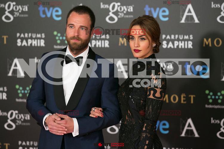 Megan Montaner attend the 2015 Goya Awards at Auditorium Hotel, Madrid,  Spain. February 07, 2015.(ALTERPHOTOS/)Carlos Dafonte) /NORTEphoto.com