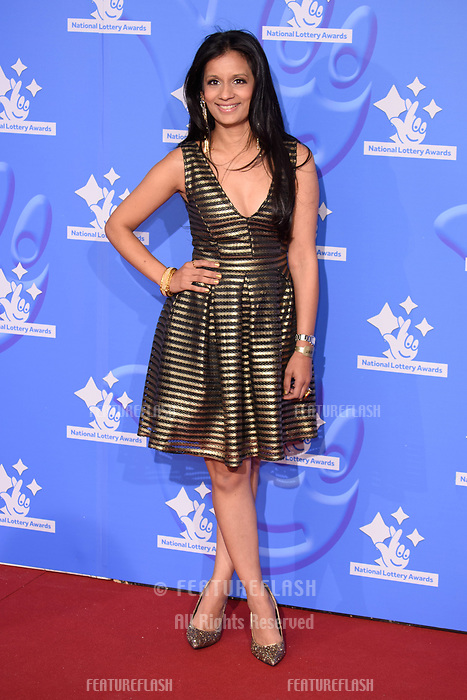 LONDON, UK. September 21, 2018: Sonali Shah at the National Lottery Awards 2018 at the BBC Television Centre, London.<br /> Picture: Steve Vas/Featureflash