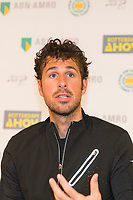Rotterdam, The Netherlands, 11 Februari 2019, ABNAMRO World Tennis Tournament, Ahoy, Press Conference, Robin Haase (NED),<br /> Photo: www.tennisimages.com/Henk Koster