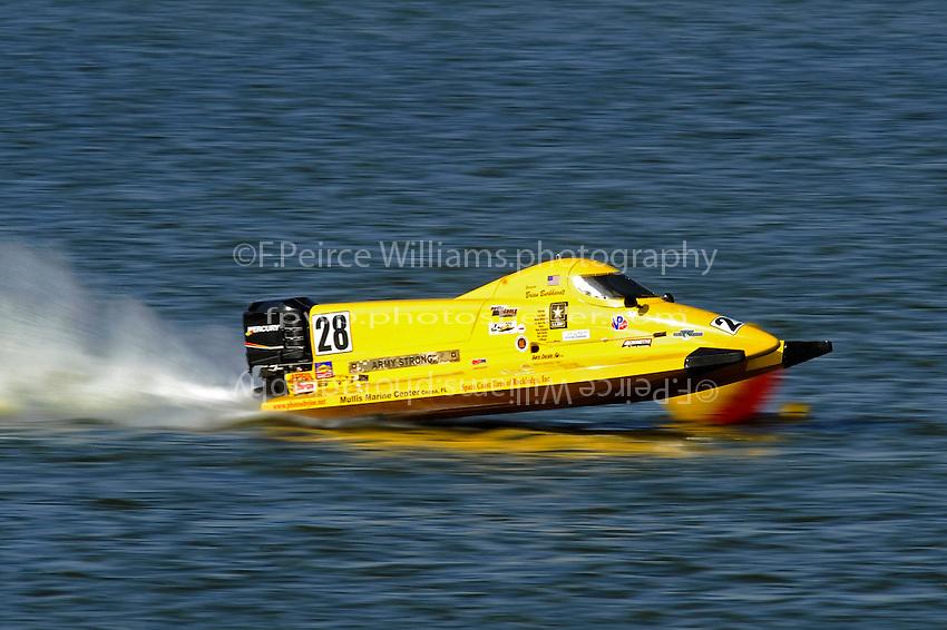 Brian Burkhardt's SST-120 tunnel boat.