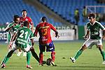 Deportivo cali Perdio en casa  1x0 con Deportivo Pasto en la liga postobon torneo finalizacion del futbol colombiano