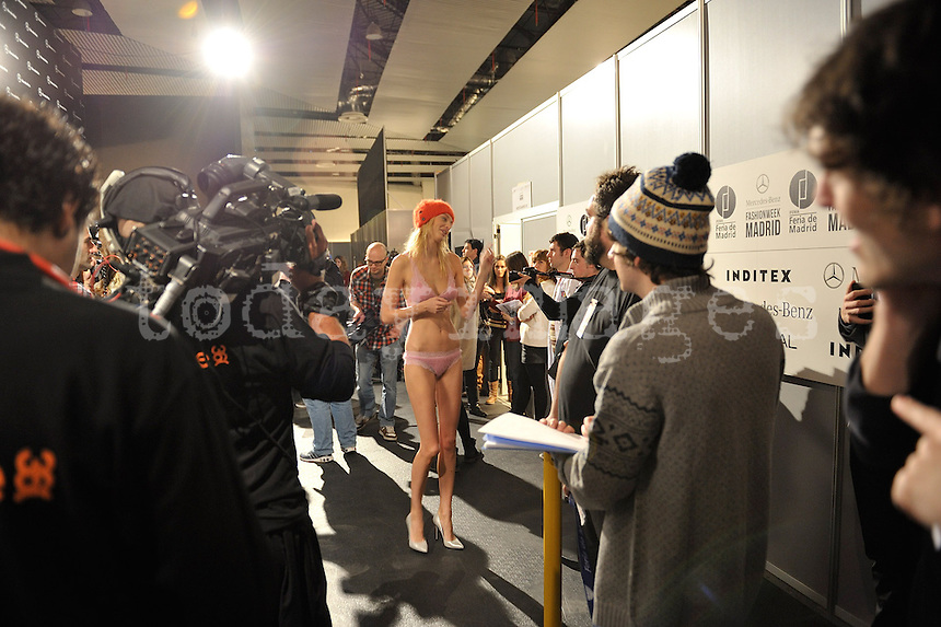 TCN at Mercedes-Benz Fashion Week Madrid 2013