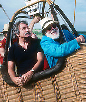 Edward Albee and Henry Geldzahler 1982<br /> Photo By Adam Scull/PHOTOlink.net /MediaPunch