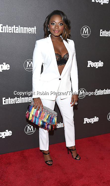 Naturi Naughton attends the Entertainment Weekly &amp; PEOPLE Magazine New York Upfronts Celebration on May 16, 2016 at Cedar Lake in New York, New York, USA.<br /> <br /> photo by Robin Platzer/Twin Images<br />  <br /> phone number 212-935-0770