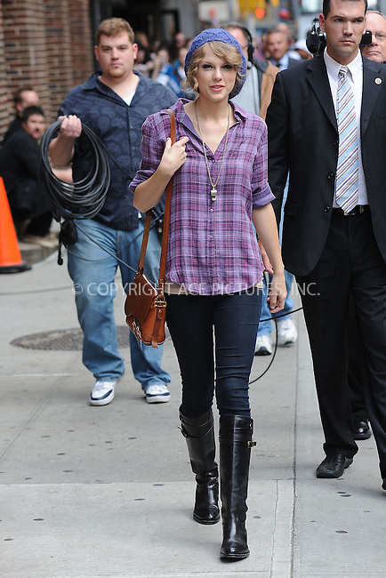 WWW.ACEPIXS.COM . . . . . .October 26, 2010, New York City...Taylor Swift arrives to tape the Late Show with David Letterman on October 26, 2010 in New York City....Please byline: KRISTIN CALLAHAN - ACEPIXS.COM.. . . . . . ..Ace Pictures, Inc: ..tel: (212) 243 8787 or (646) 769 0430..e-mail: info@acepixs.com..web: http://www.acepixs.com .