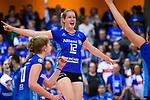 11.05.2019, Scharrena, Stuttgart<br />Volleyball, Bundesliga Frauen, Play-offs Finale, 5. Spiel, Allianz MTV Stuttgart vs. SSC Palmberg Schwerin<br /><br />Jubel Deborah van Daelen (#12 Stuttgart)<br /><br />  Foto © nordphoto / Kurth