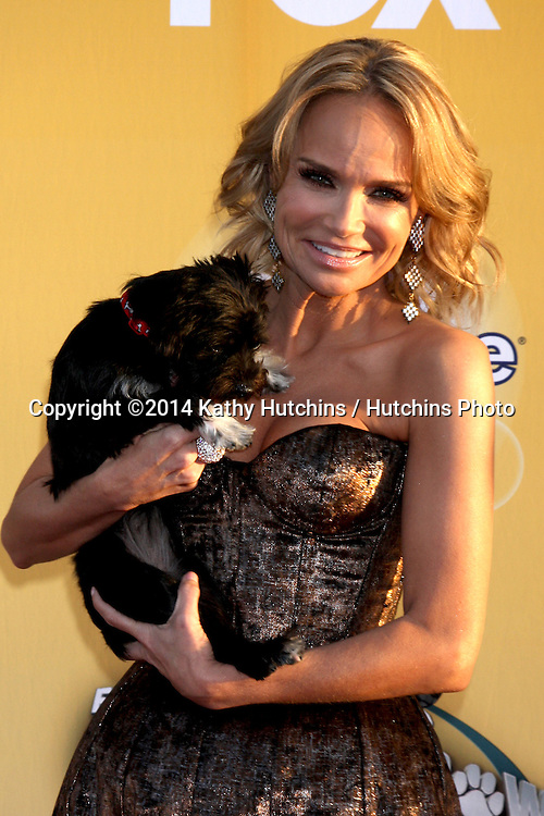 "LOS ANGELES - NOV 22:  Kristen Chenoweth at the FOX's ""Cause for Paws:  All-Star Dog Spectacular"" at the Barker Hanger on November 22, 2014 in Santa Monica, CA"