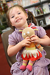 Amelia Walsh at Childrens Story Tme in Drogheda Library...Picture Jenny Matthews/Newsfile.ie