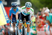 ESPAÑA, 30-08-2019: Miguel Angel lopez (COL - ASTANA) durante la etapa 7, hoy, 30 de agosto de 2019, que se corrió entre Onda y Mas de la Costa con una distancia de 183,2 km como parte de La Vuelta a España 2019 que se disputa entre el 24/08 y el 15/09/2019 en territorio Español. / Miguel Angel lopez (COL - ASTANA) during stage 7 today, August 30, 2019, from Onda to Mas de la Costa with a distance of 183,2 km as part of Tour of Spain 2019 which takes place between 08/24 and 09/15/2019 in Spain.  Photo: VizzorImage / Luis Angel Gomez / ASO<br /> VizzorImage PROVIDES THE ACCESS TO THIS PHOTOGRAPH ONLY AS A PRESS AND EDITORIAL SERVICE AND NOT IS THE OWNER OF COPYRIGHT; ANOTHER USE HAVE ADDITIONAL PERMITS AND IS  REPONSABILITY OF THE END USER