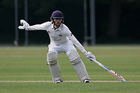 J Hebron of Brentwood during Brentwood CC vs Ilford CC, Shepherd Neame Essex League Cricket at The Old County Ground on 8th June 2019