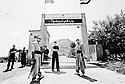 Iraq 2010 .Entrance of the headquarters of Iranian Komala party .Irak 2010 .Entree du camp du Komala d'Iran
