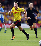 Tom Cleverley of Watford during the premier league match at the Vicarage Road Stadium, Watford. Picture date 26th August 2017. Picture credit should read: Robin Parker/Sportimage