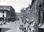Frederick Stone negative- Bank Street at Grand 1922.