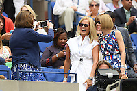 FLUSHING NY- SEPTEMBER 05: Anna Wintour is seen watching Venus Williams Vs Pliskova on Arthur Ashe Stadium at the USTA Billie Jean King National Tennis Center on September 5, 2016 in Flushing Queens. Credit: mpi04/MediaPunch