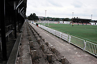 General view of Bromley FC Football Ground, Hayes Lane, Bromley, Kent, pictured on 30th January 1994