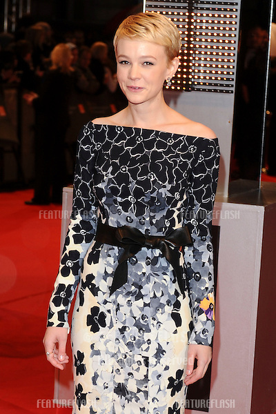 Carey Mulligan arriving 2010 BAFTA Film Awards at the Royal Opera House, Covent Garden, London.   21/02/2010   Picture by: Steve Vas / Featureflash