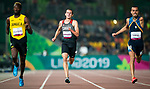 Lima, Peru -  25/August/2019 -  Thomas Normandeau competes in the men's 400 T47 at the Parapan Am Games in Lima, Peru. Photo: Dave Holland/Canadian Paralympic Committee.