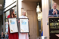 LOS ANGELES - OCT 19:  Idina Menzel, Kristen Bell, Eric Garcetti at the Idina Menzel and Kristen Bell Star Ceremony on the Hollywood Walk of Fame on October 19, 2019 in Los Angeles, CA
