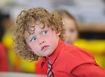 29-08-2013: Cathal Sugrue   enjoying his first day at Holy Cross National School, Killarney on Thursday. Picture: Eamonn Keogh (MacMonagle, Killarney)