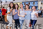 Enjoying the Guiness and Oysters at the Cahersiveen Festival on Saturday were l-r; Aine Sheehan, Niamh O'Sullivan, Carmel, Maureen & Emma Cournane.