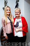Lorraine Walsh with her mother Caroline Nammock celebrating her birthday at Bella Bia's on Friday