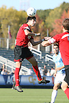 14 November 2010: Maryland's Greg Young. The University of Maryland Terrapins defeated the University of North Carolina Tar Heels 1-0 at WakeMed Soccer Park in Cary, North Carolina in the ACC Men's Soccer Tournament Championship game.