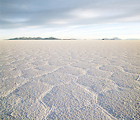 Salar de Uyuni salt flats, the worlds largest salt flats. Potosi Region, Bolivia.