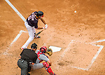 29 May 2016: Washington Nationals third baseman Anthony Rendon in action against the St. Louis Cardinals at Nationals Park in Washington, DC. The Nationals defeated the Cardinals 10-2 to split their 4-game series. Mandatory Credit: Ed Wolfstein Photo *** RAW (NEF) Image File Available ***