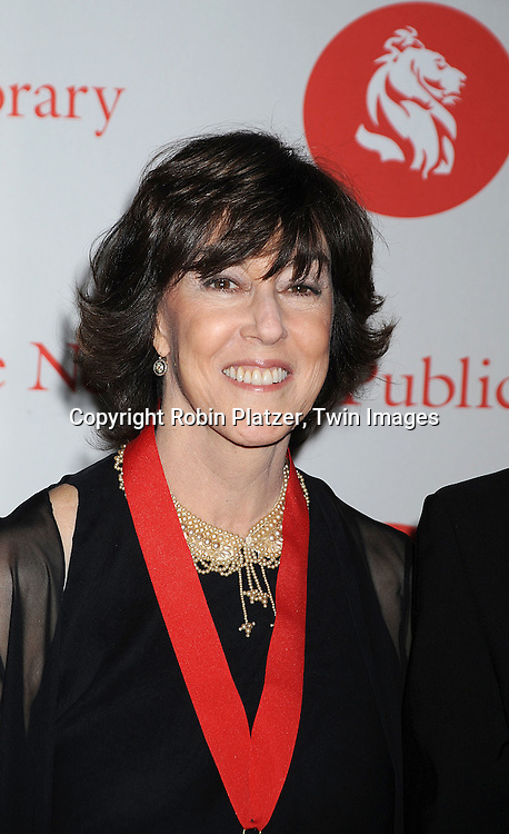 Nora Ephron..arriving at The New York Public Library 2008 Library Lions Benefit Gala on November 3, 2008 at The New York Public Library at 42nd Street and 5th Avenue.....Robin Platzer, Twin Images