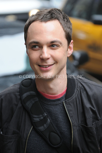 WWW.ACEPIXS.COM . . . . . ....April 22 2009, New York City....Actor Jim Parsons made an appearance at the 'Late Show With David Letterman' at the Ed Sullivan Theater on April 22, 2009 in New York City....Please byline: KRISTIN CALLAHAN - ACEPIXS.COM.. . . . . . ..Ace Pictures, Inc:  ..tel: (212) 243 8787 or (646) 769 0430..e-mail: info@acepixs.com..web: http://www.acepixs.com