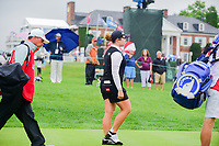 Ariya Jutanugarn (THA) departs the first tee during Friday's second round of the 72nd U.S. Women's Open Championship, at Trump National Golf Club, Bedminster, New Jersey. 7/14/2017.<br /> Picture: Golffile | Ken Murray<br /> <br /> <br /> All photo usage must carry mandatory copyright credit (&copy; Golffile | Ken Murray)
