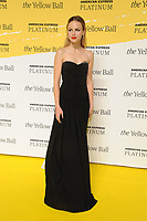 BROOKLYN, NY - SEPTEMBER 10: Halston Sage at The Yellow Ball at The Brooklyn Museum in New York City on September 10, 2018. <br /> CAP/MPI99<br /> &copy;MPI99/Capital Pictures