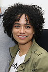 "Lauren Ridloff attends the cast photo call for the Broadway Revival of  ""Children of a Lesser God"" on February 22, 2018 at the Roundabout Rehearsal Studios in New York City."