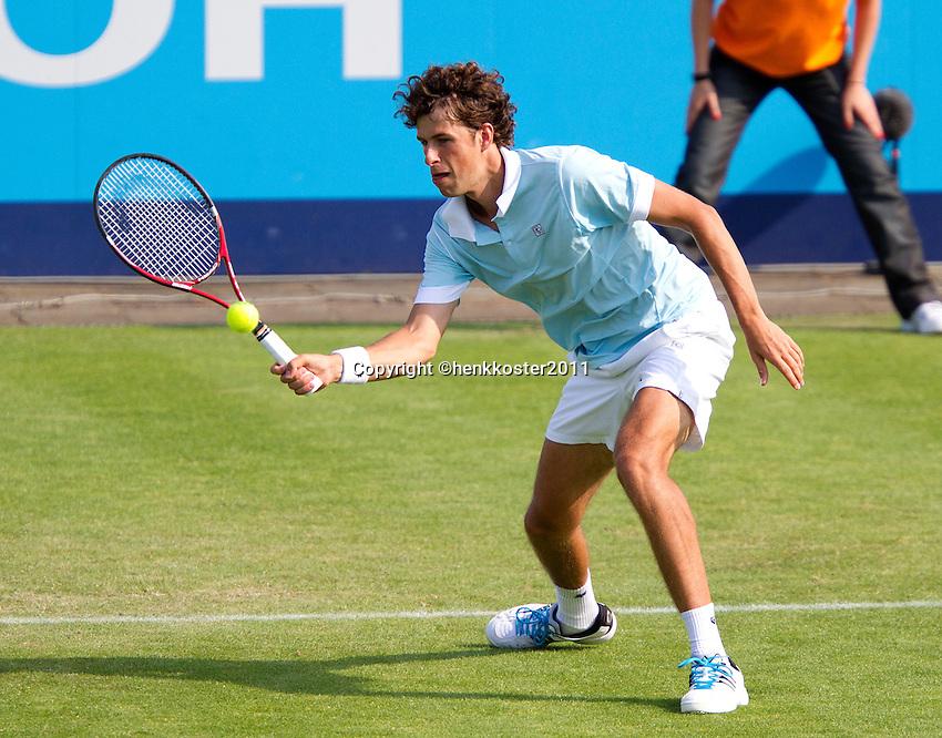 14-06-11, Tennis, Rosmalen, Unicef Open, Robin Haase
