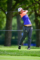 Min Seo Kwak (KOR) watches her tee shot on 17 during Thursday's round 1 of the 2017 KPMG Women's PGA Championship, at Olympia Fields Country Club, Olympia Fields, Illinois. 6/29/2017.<br /> Picture: Golffile | Ken Murray<br /> <br /> <br /> All photo usage must carry mandatory copyright credit (&copy; Golffile | Ken Murray)