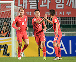 Korea Republic vs Qatar during the2018 FIFA World Cup Russia Asian Qualifiers Final Qualification Round Group A match at Suwon World Cup Stadium on 06 October 2016, in Suwon, South Korea. Photo by Lucas Schifres / Power Sport Images