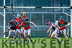 Action from the Cuauseway v Crotta O'Neills U21 hurling championship final