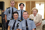Chairperson Mary McCullough with memebers of the Gardai at the Senior Citizens Summer Party...Photo NEWSFILE/Jenny Matthews.(Photo credit should read Jenny Matthews/NEWSFILE)....This Picture has been sent you under the condtions enclosed by:.Newsfile Ltd..The Studio,.Millmount Abbey,.Drogheda,.Co Meath..Ireland..Tel: +353(0)41-9871240.Fax: +353(0)41-9871260.GSM: +353(0)86-2500958.email: pictures@newsfile.ie.www.newsfile.ie.FTP: 193.120.102.198.
