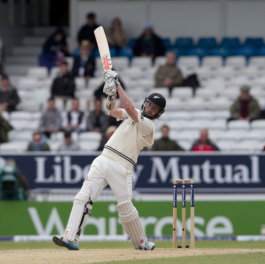 New Zealand's Mark Craig<br /> <br /> Photographer Stephen White/CameraSport<br /> <br /> International Cricket - 2nd Investec Test Match - England v New Zealand - Day 4 - Monday 1st June 2015 2015 - Headingley Cricket Ground, Leeds<br /> <br /> &copy; CameraSport - 43 Linden Ave. Countesthorpe. Leicester. England. LE8 5PG - Tel: +44 (0) 116 277 4147 - admin@camerasport.com - www.camerasport.com